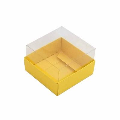 Caixa 1 macaron - Amarelo