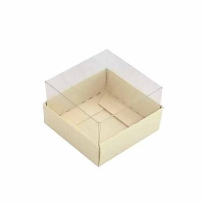 Caixa 1 macaron - Marfim