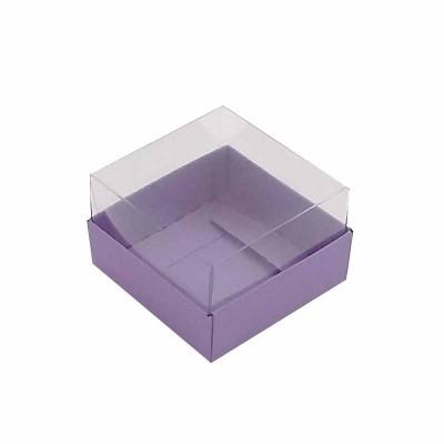 Caixa 1 macaron - Roxo