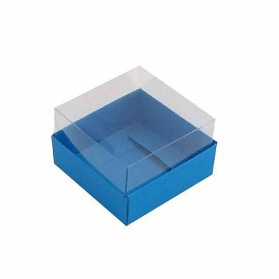 Caixa 1 macaron - Azul Royal