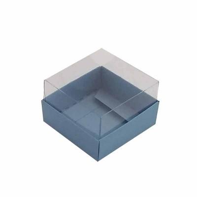 Caixa 1 macaron - Azul Nice