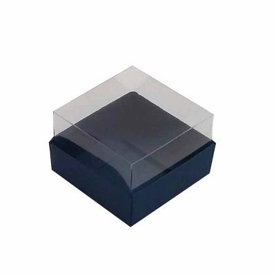Caixa 1 macaron - Azul Escuro