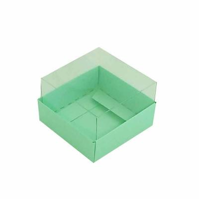 Caixa 1 macaron - Verde Maçã