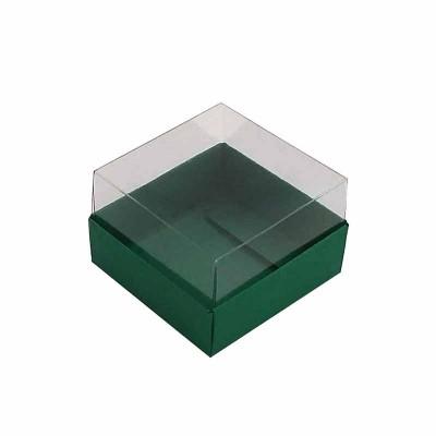 Caixa 1 macaron - Verde brasil