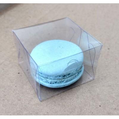 Caixa 1 macaron transparente