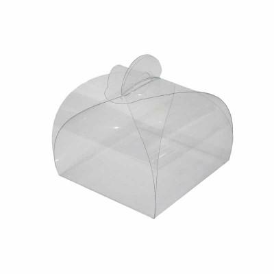 Caixa Pão de Mel transparente