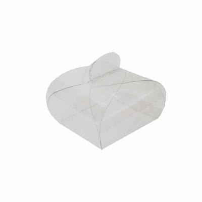 Caixa Pão de Mel transparente - pequena