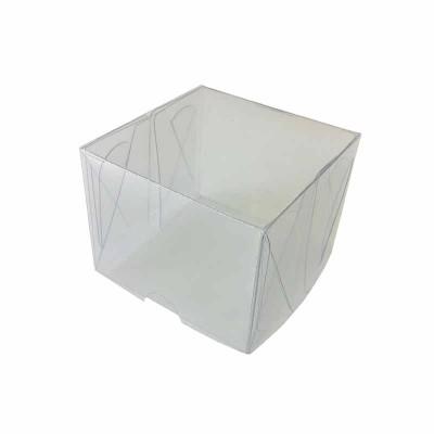 Caixa Pão de Mel transparente 6,5 x 6,5 x 5,0