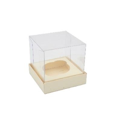 Caixa Mini Cupcake - Marfim