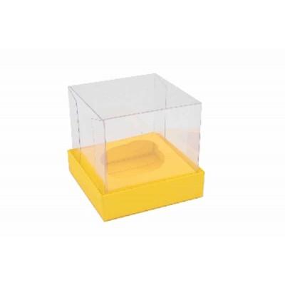 Caixa Mini Cupcake - Amarelo