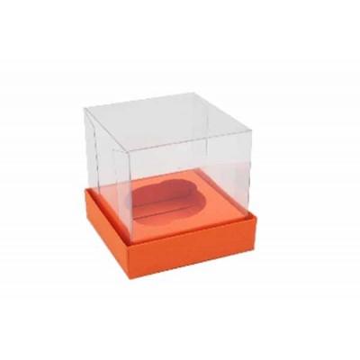 Caixa Mini Cupcake - Laranja / Cenoura