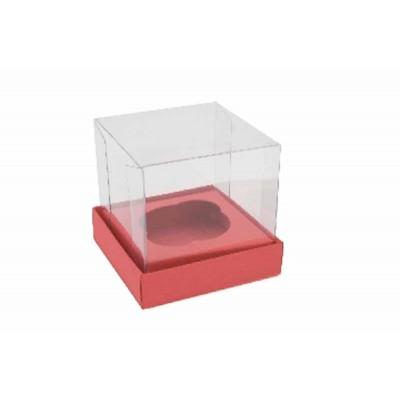 Caixa Mini Cupcake - Vermelho