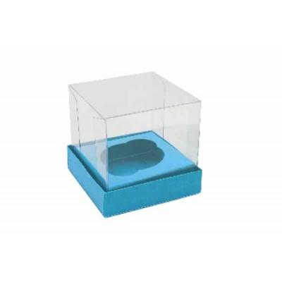 Caixa Mini Cupcake - Azul Royal