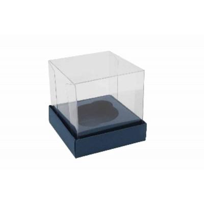 Caixa Mini Cupcake - Azul Escuro