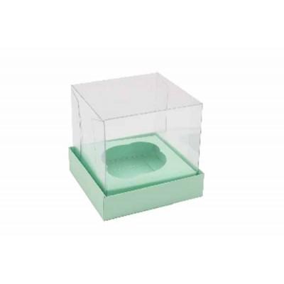 Caixa Mini Cupcake - Verde Bebê