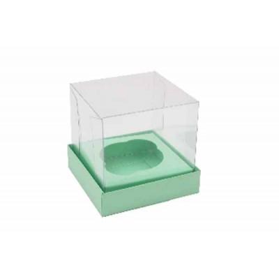 Caixa Mini Cupcake - Verde Maçã