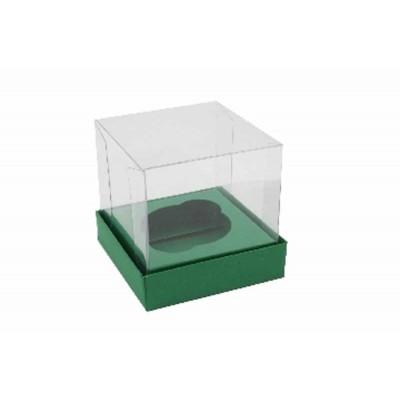 Caixa Mini Cupcake - Verde Brasil