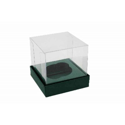 Caixa Mini Cupcake - Verde Escuro
