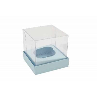 Caixa Mini Cupcake - Azul Bebê