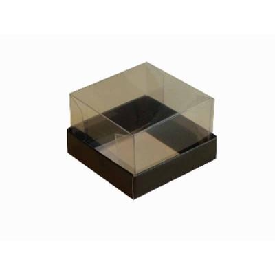 Caixa para 1 brownie - Preto