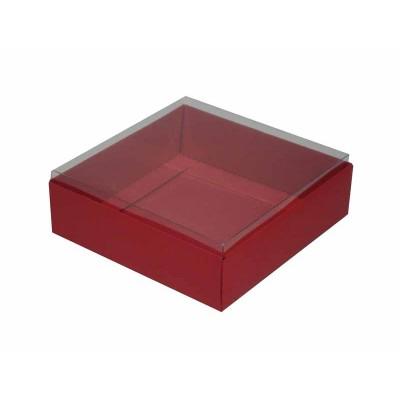 Caixa para 9 doces e bombons - Vermelho