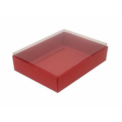 Caixa para 12 doces e bombons - Vermelho