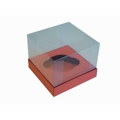 Caixa especial Cupcake - Vermelha