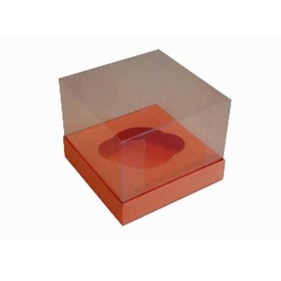 Caixa especial Cupcake - Laranja / Cenoura