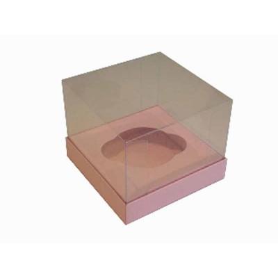 Caixa especial Cupcake - Rosa Bebê