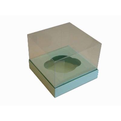 Caixa especial Cupcake - Verde bebê