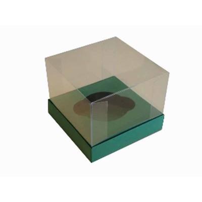 Caixa especial Cupcake - Verde Brasil