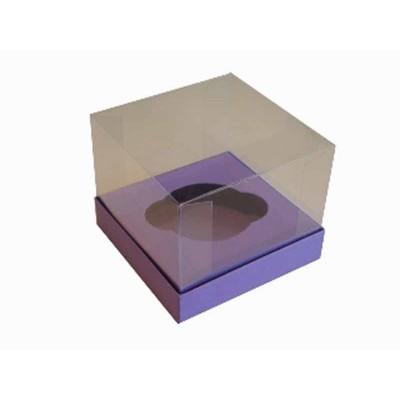 Caixa especial Cupcake - Roxo