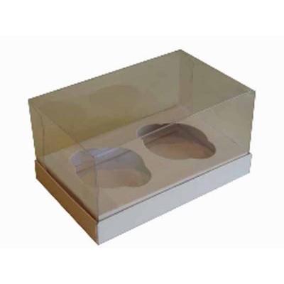 Caixa Branca 2 Cupcakes