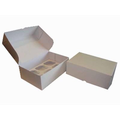 Caixa Branca 6 Cupcakes