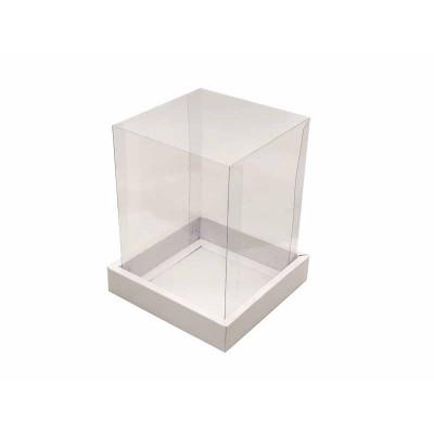 Caixa Panetone 250g - Branco