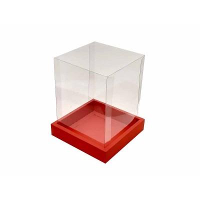 Caixa Panetone 250g - Vermelha