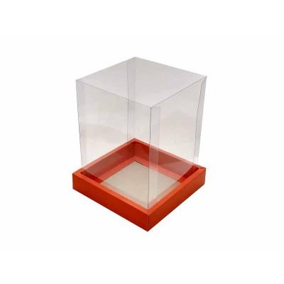 Caixa Panetone 250g - Vermelho brilho