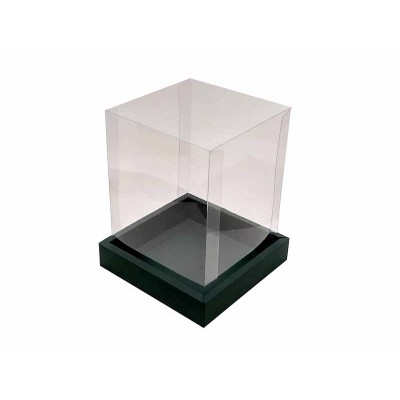 Caixa Panetone 250g - Verde musgo
