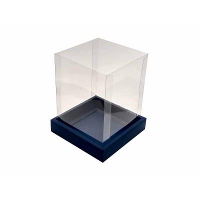 Caixa Panetone 250g - Azul escuro