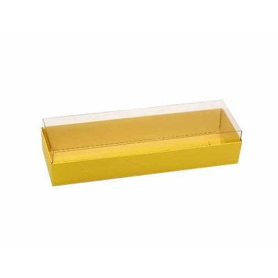 Caixa 3 macarons deitados - Amarela