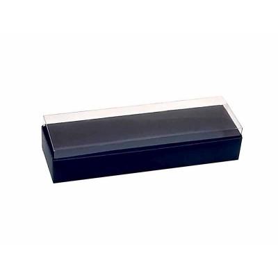 Caixa 3 macarons deitados - Azul Escuro