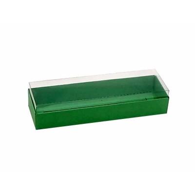 Caixa 3 macarons deitados - Verde  Maçã