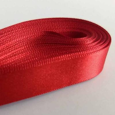 Fita de cetim 15 mm - vermelho
