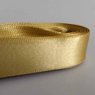 Fita de cetim 15 mm - dourada