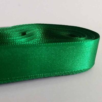 Fita de cetim 15 mm - verde natal
