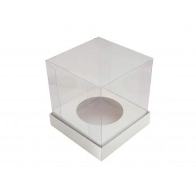 Caixa Mini Panetone 100g - Branco