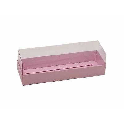 Caixa 5 macarons - Rosa Bebê