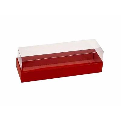 Caixa 5 macarons - Vermelha