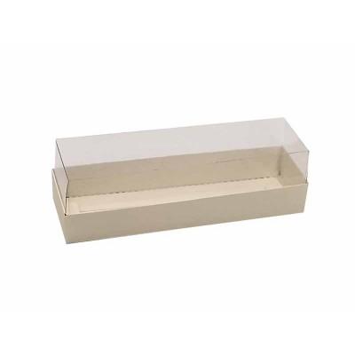 Caixa 5 macarons - Marfim