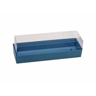 Caixa 5 macarons - Azul nice